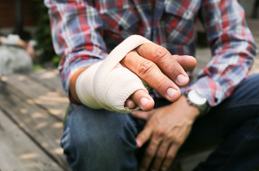 Personal Injury Broken Hand