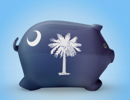 South Carolina Piggy Bank