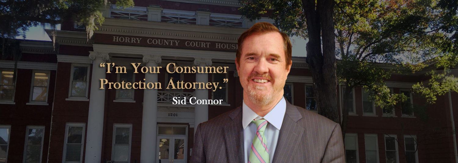 Sid Connor consumer protection lawyer