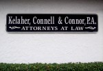 Kelaher, Connell & Connor Exterior Sign